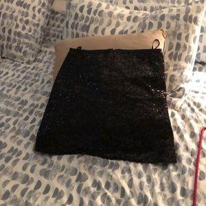 Sequin JCrew Skirt